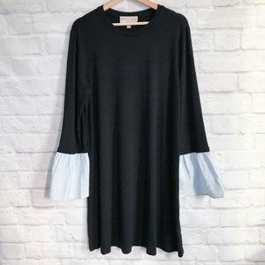 Philosophy Flare Sleeve Knit Dress